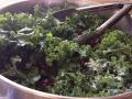 Yumm ... kale salad