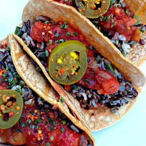 E2 Wild Rice Tacos